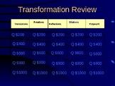 Transformation Jeopardy Review