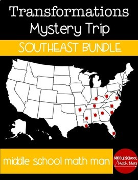 Transformation Mystery USA Trip Southeast Bundle