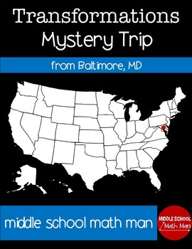 Transformation Mystery USA Trip from Baltimore, Maryland
