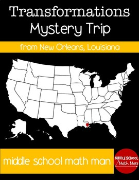 Transformation Mystery USA Trip from New Orleans, Louisiana