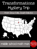Transformation Mystery USA Trip from Sioux Falls, South Dakota