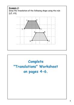 Transformation Notes