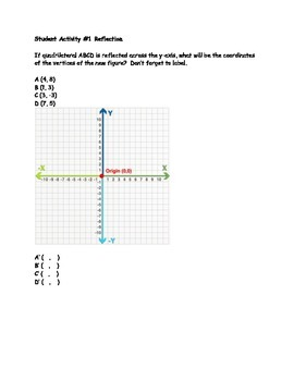 Transformation Notes and Practice Activities
