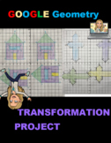 Transformation Project Geometry Activity Digital Rotations and More!