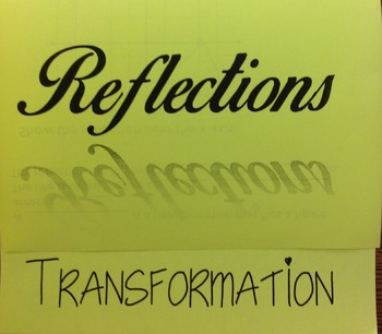 Transformation:Reflections Foldable