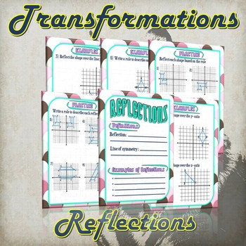 Transformation Reflections - (Guided Notes and Practice)