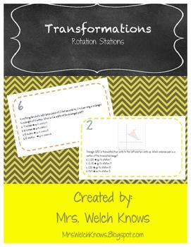 Transformation Rotation Stations