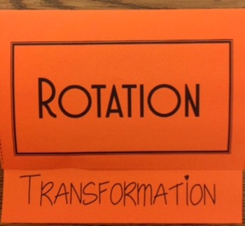Transformation-Rotations Foldable