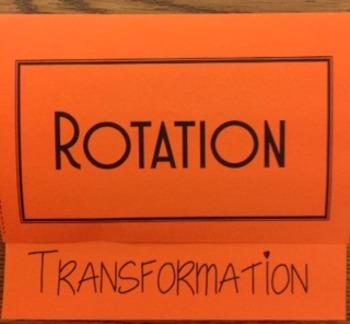 Transformation-Rotations Foldable
