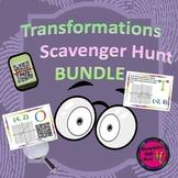 Transformation Scavenger Hunt BUNDLE (QR and Non QR) Great Unit or STAAR Rev