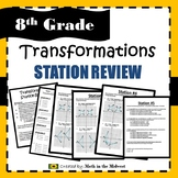 Transformation Station Review {Translations, Rotations, Re