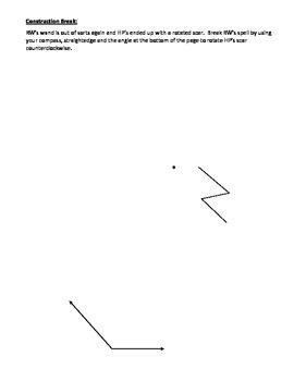 Geometry Transformation Tangram Review
