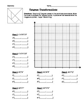 Geometry Transformation Tangram Review