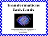 Transformation Task Cards with QR Codes