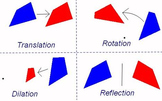 Transformation Task - Reflection, Rotation, Translation, and Dilation