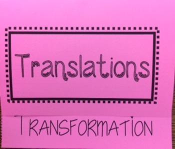Transformation-Translation Foldable
