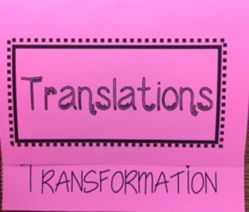 Transformation-Translation Foldable
