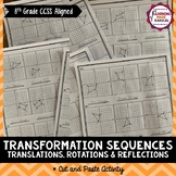 Transformation Sequences Cut and Paste Activity
