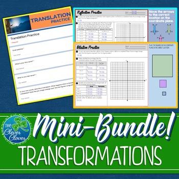 Transformation Worksheets