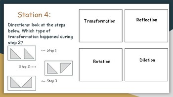 Transformation and Polygons Stations