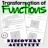 Algebra 2 Transformation of Functions - Discovery Activity