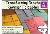 Transformation of Graphs Revision Foldable
