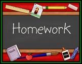 Transformation of Graphs -- Homework