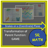 "Transformation of Parent Functions Game, ""Snakes on a (Coo"