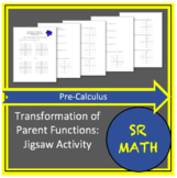 Transformation of Parent Functions - Jigsaw Activity