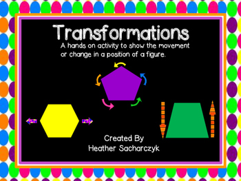 Transformation of Shapes - Interactive Booklet
