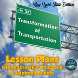 Transformation of Transportation Lesson Plans & Interactive Notebook Mega Bundle