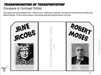 Transformation of Transportation Lesson Plans & Interactive Notebook Mega Bundle