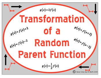 Transformation of a Random Parent Function