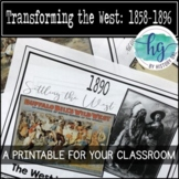 Transforming the West Timeline {A Printable for Your Classroom}