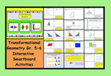 Transformational Geometry Gr. 5-6 Interactive SMARTboard Activities & printables