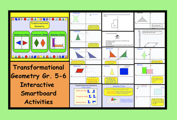 Transformational Geometry Gr. 5-6 Interactive SMARTboard A