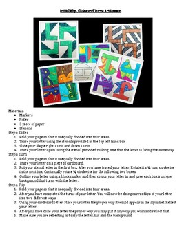 Transformational Geometry Math Art
