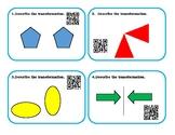 Transformational Geometry QR Task Cards