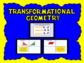 Transformational Geometry Smartboard FREEBIE
