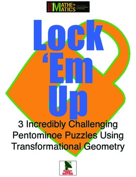 Pentomino Challenges: 3 incredibly difficult locking challenges