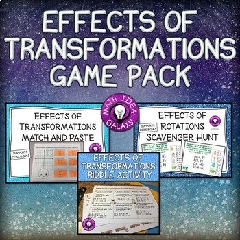 Effects of Transformations Game Pack