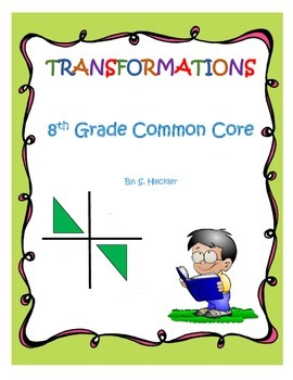 Transformations 8th Grade Common Core