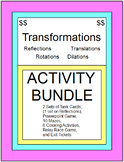 TRANSFORMATIONS - ACTIVITY BUNDLE (WITH 3 SETS OF BOOM DIGITAL TASK CARD SETS)