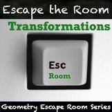 Transformations Activity - QR Code Escape Room!