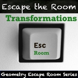 Transformations Activity - QR Code Escape Room!
