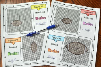Transformations Activity (Translations, Reflections, Rotations, and Dilations)