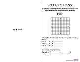 Transformations Booklets (Reflection, Translation, Rotatio
