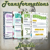 Transformations Bundle - (Guided Notes and Practice)