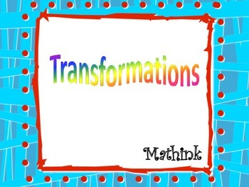 Transformations Bundle (dilations, reflections, rotations, and translations)