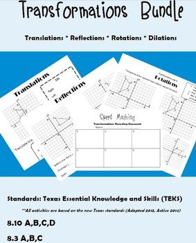 Transformations Bundle from TEKS